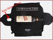WineHug Single ~ Easy Valve Access